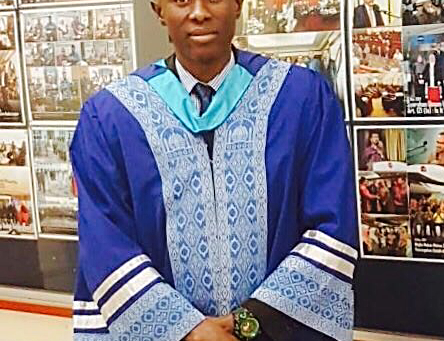 Profile:Masters graduate Musa Manjang braces for challenges in thejob market