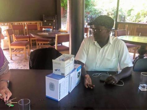 UK based Gunjurians donate Blood Pressure Machines to Gunjur Youths for Health