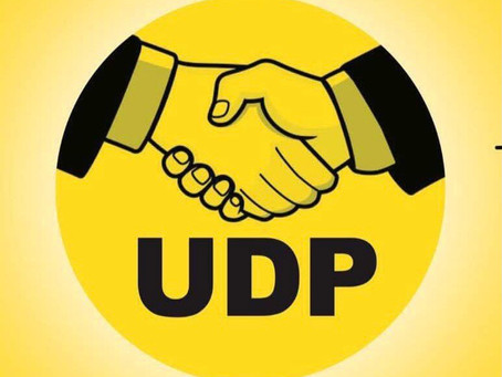 UDP COMMISERATION MESSAGE ON THE RAINSTORMS THAT CAUSED LOSS OF LIVES