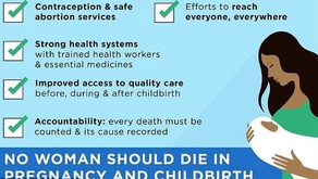 Commentary: Maternal mortality