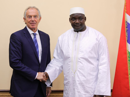 """""""President Barrow is clear about his priorities'' – Tony Blair"""
