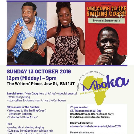 Mboka Festival Showcase - Brighton