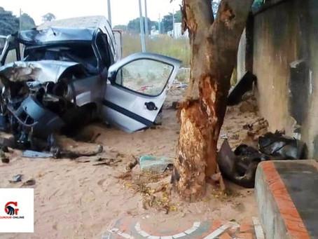 Car accident kills two in Gunjur