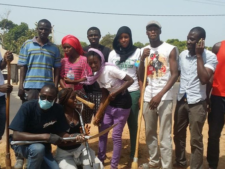 NEWS: Kambie Bolong Youths Development Cleans The Environment