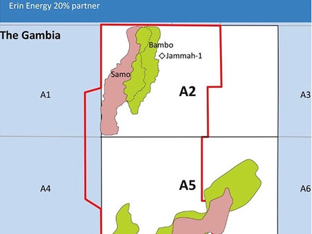 FAR Ltd to spud Gambia Oil blocks on 1 October