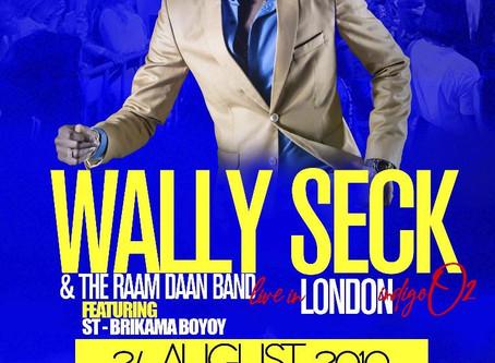Yaram Presents Wally Seck LIVE in London