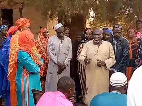 First Lady Madam Fatoumatta Bah Barrow distributes Iftar in Gunjur