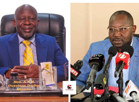 GMC leader holds Darboe responsible for Gambia's 'mess'