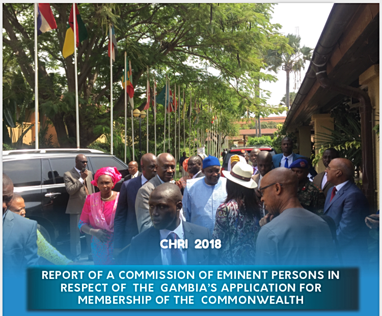 Commonwealth Fact Finding Report on Gambia 2018