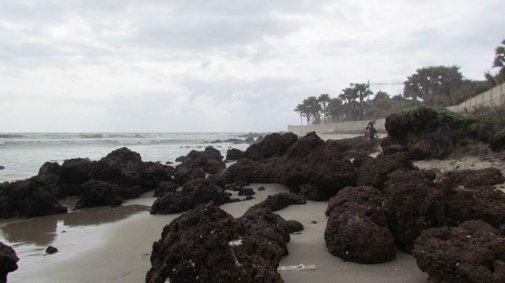 Gunjur Beach Rocks