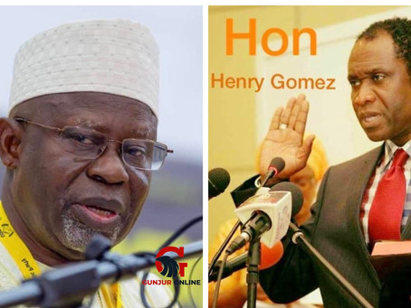 Henry Gomez: Lawyer Darboe is too old to be president
