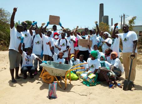 Gunjur community embarks on beach cleaning, as environmental devastation festers