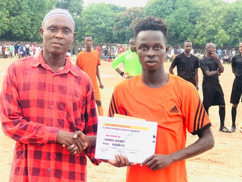 G-sports and GSC award Excellence and Discipline In Gunjur 'Nawettan'