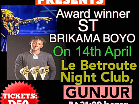 ST Brikama Boyo to perform for GDA in Gunjur