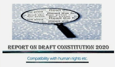 Report on The Gambia Draft Constitution 2020 and its Compatibility with Human Rights etc.