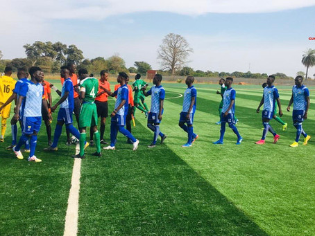 An energetic Falcons side produced a thrilling 4 - 3 comback against a disappointing Gunjur Utd FC