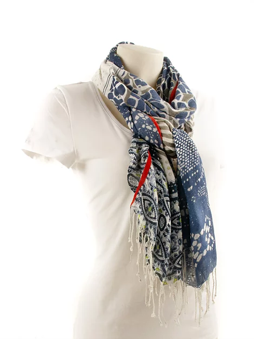 SCARF Multidesign / Jeans