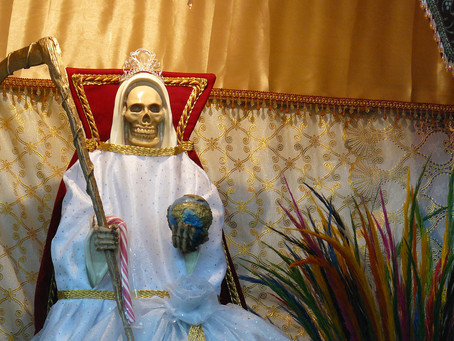 Santa Muerte Devotional Series - La Hermana Blanca