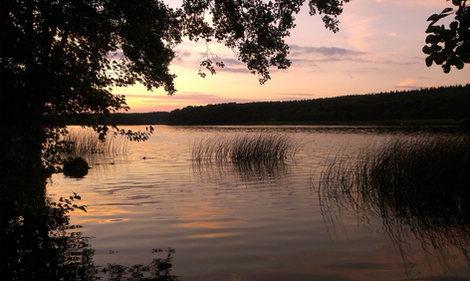 Tornowsee Sonnenuntergang