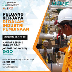 Peluang Kerjaya Dalam Industri Pembinaan