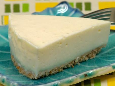 Cheesecake al Tofu senza zucchero