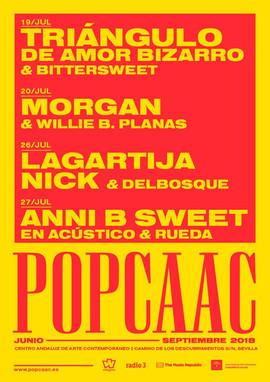RUEDA abre para Anni B Sweet en el festival POP CAAC