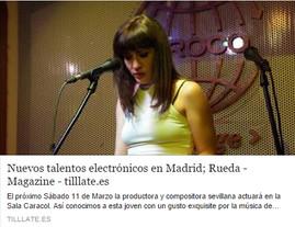 Rueda en Tilllate Magazine