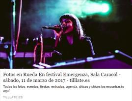 Fotogalería 'Rueda en Sala Caracol' en Tilllate Magazine