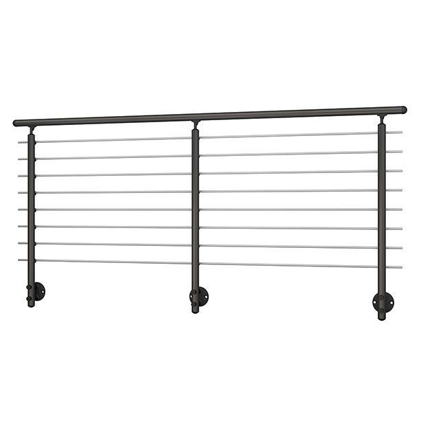 Wall Mounted Anthracite Banister
