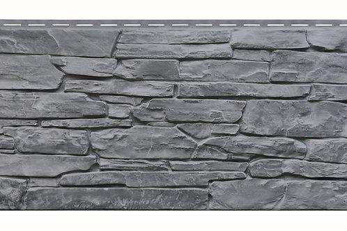 Solid stone plastic cladding panel