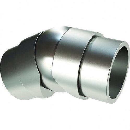 Adjustable Elbow for 50mm tube Anodised Aluminium