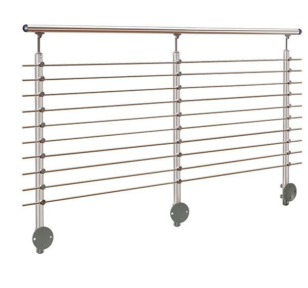 Aluminum Wall Mounted Banister
