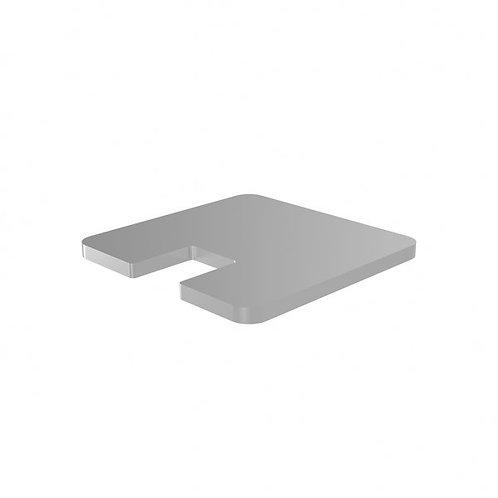 548 Magia Blanking Cap For 50mm End Post Aluminium Satin Anodised Finish