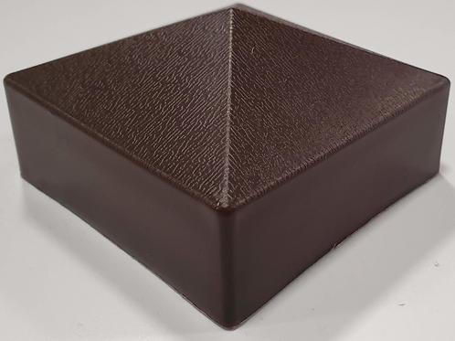 548 Brown Post Cap 75x45mm