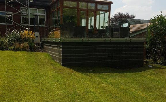 Stand Off Glass Balustrade