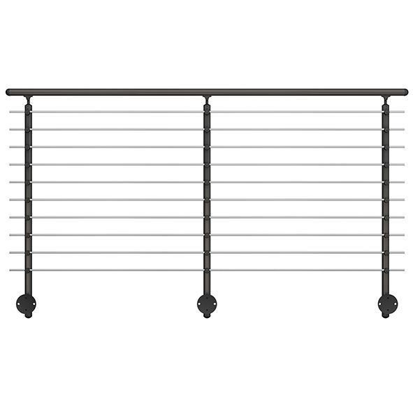 Anthracite Wall Mounted Banister