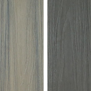 548 Prestige cedar and graphite deck boards