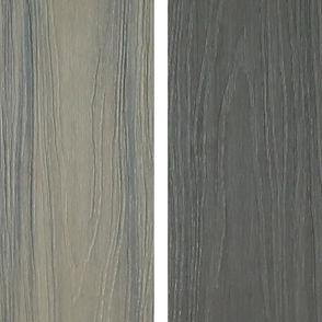 548 Prestige cedar and graphite deck boards