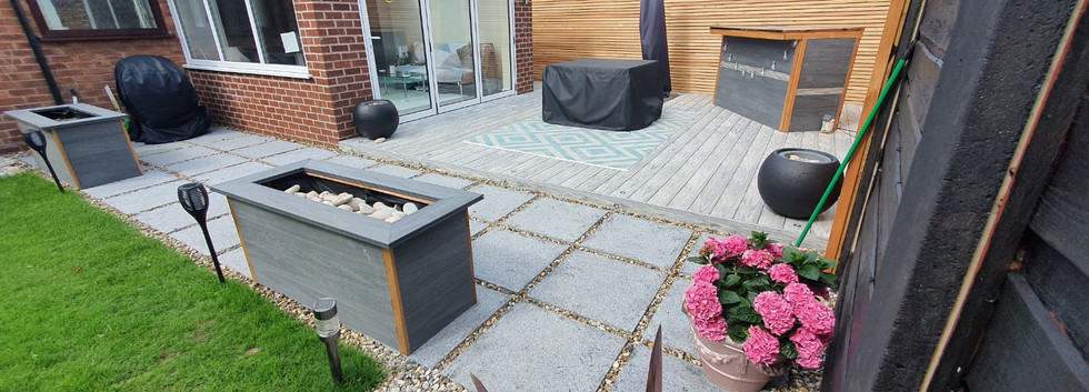 548 Industry Limestone Decking