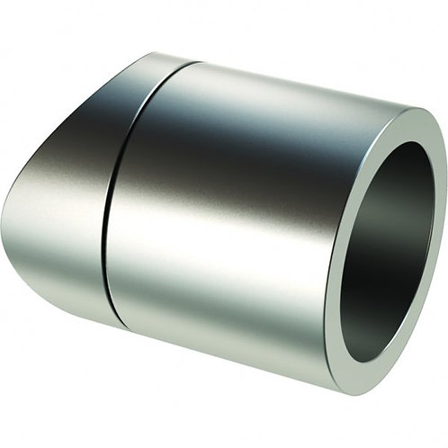 Fixed split tube holder Anodised Aluminium