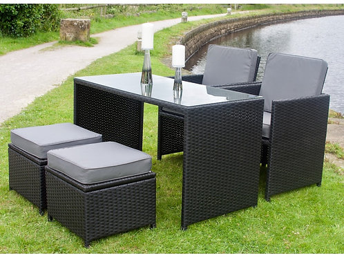 Outdoor Rattan Mini Cube Set (2 Colours)