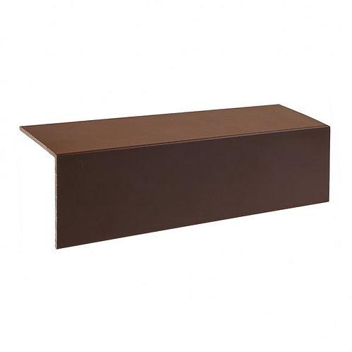 AL13 Aluminium Deck Trim Brown