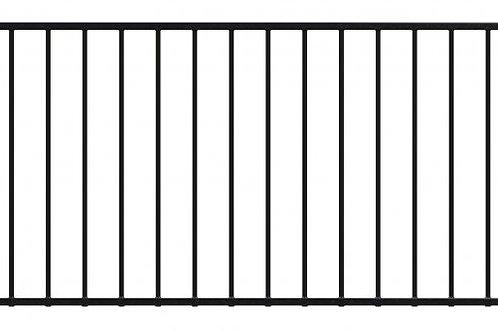 Railing Panel 2400mm wide x 900mm high 16mm Diameter Bars