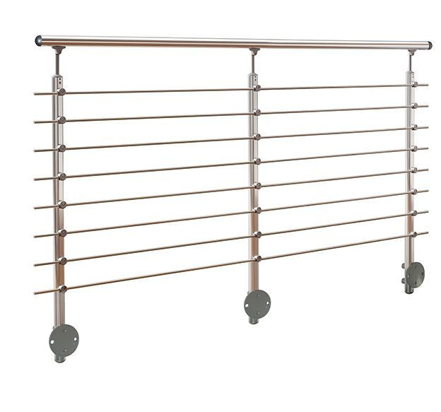 Wall Mounted Aluminum Banister