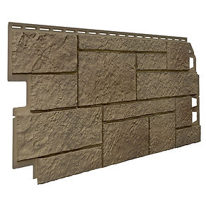 Sandstone Brown Brick Plastic Cladding