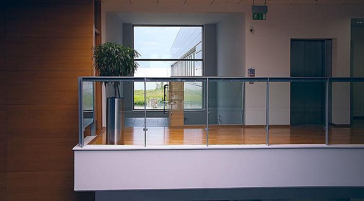 Office Glass Balustrade