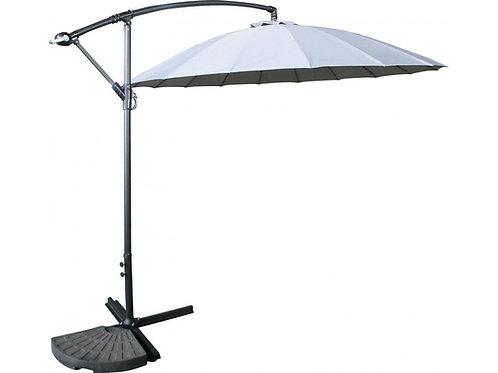 Hakone 3M Cantilever Hanging Sun Umbrella Crank Handle Parasol