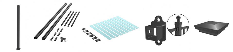 548 Nouvelle Glass Slate Kit