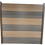 Thumbnail: 548 Brown Aluminium Slotted Fence post (H)2.4m (W)70mm