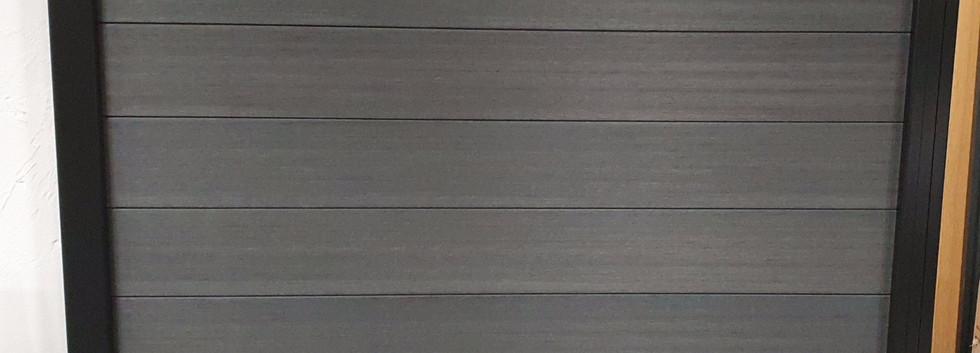 Composite Graphite Fence